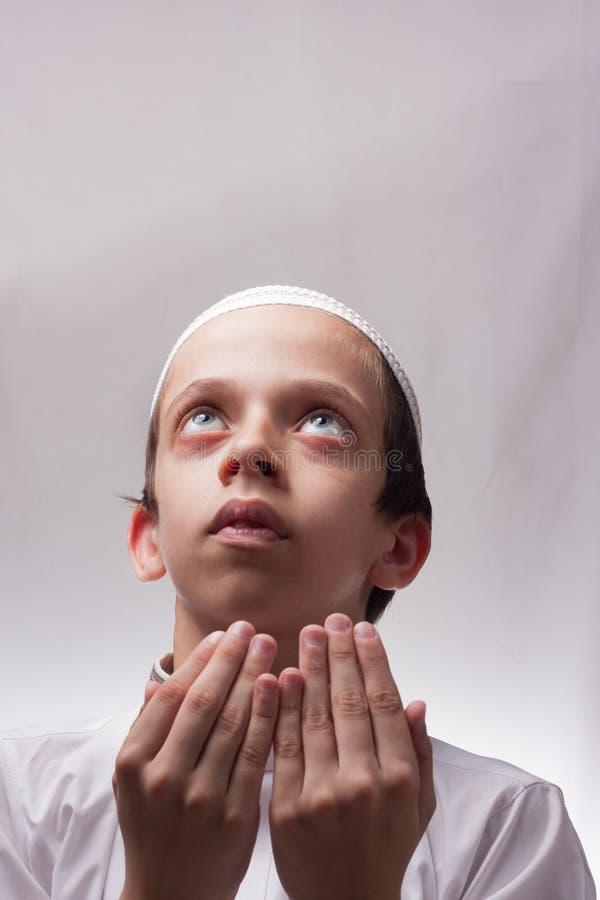 Jong Geitje In Arabische Kleren Stock Foto