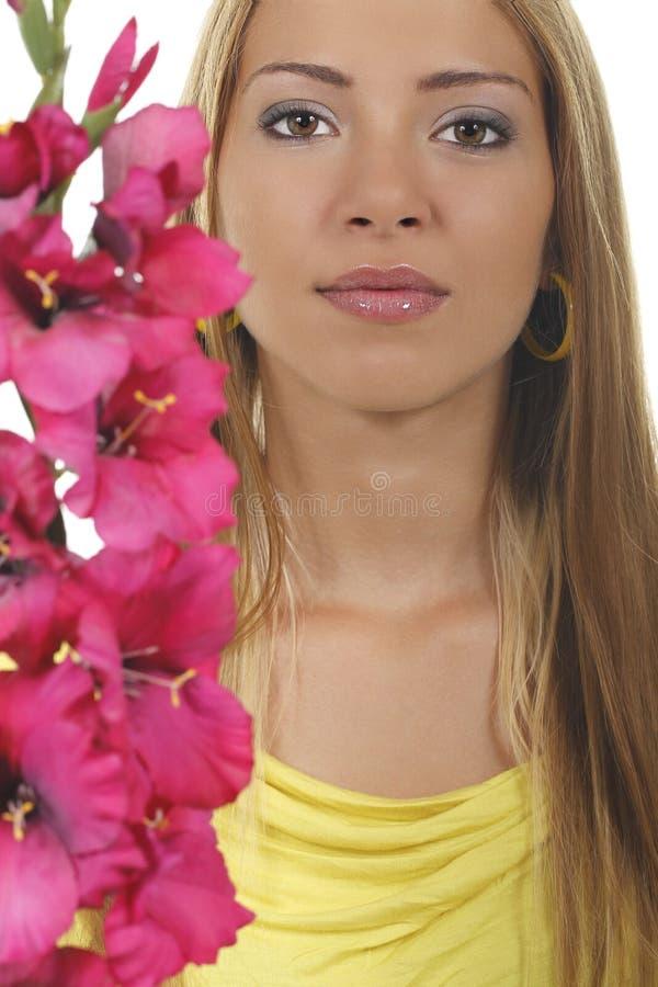 Jong Gezicht Womans stock afbeeldingen
