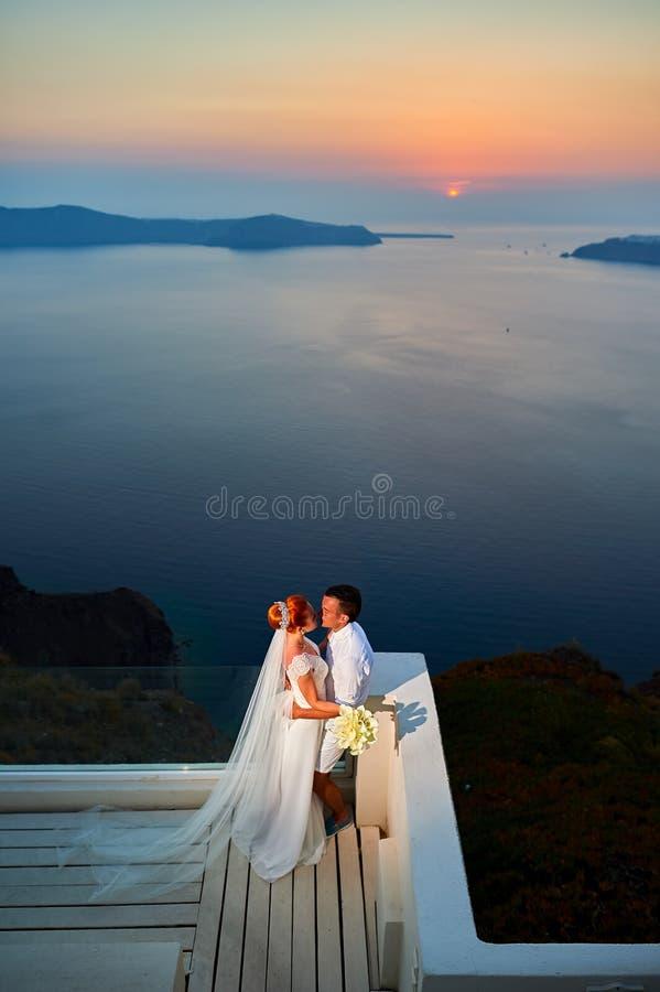 Jong huwelijkspaar stock foto