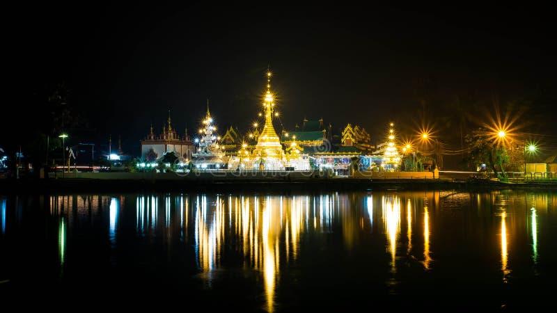 Jong Kam寺庙 免版税库存图片