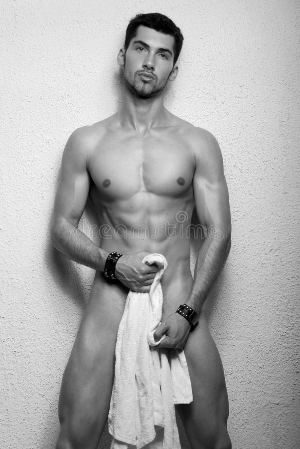 Jong mannelijk model royalty-vrije stock foto's