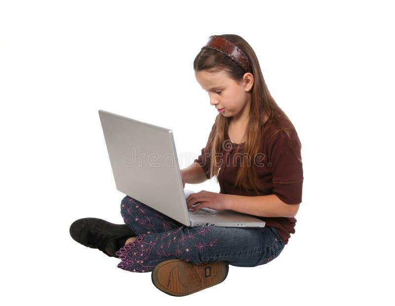 Jong meisje 10 royalty-vrije stock afbeelding