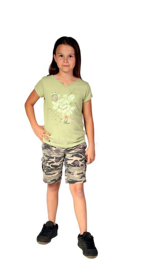 Jong meisje 7 stock foto's