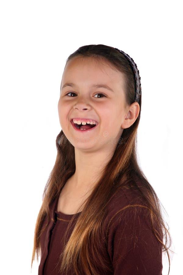 Jong meisje 8 stock foto