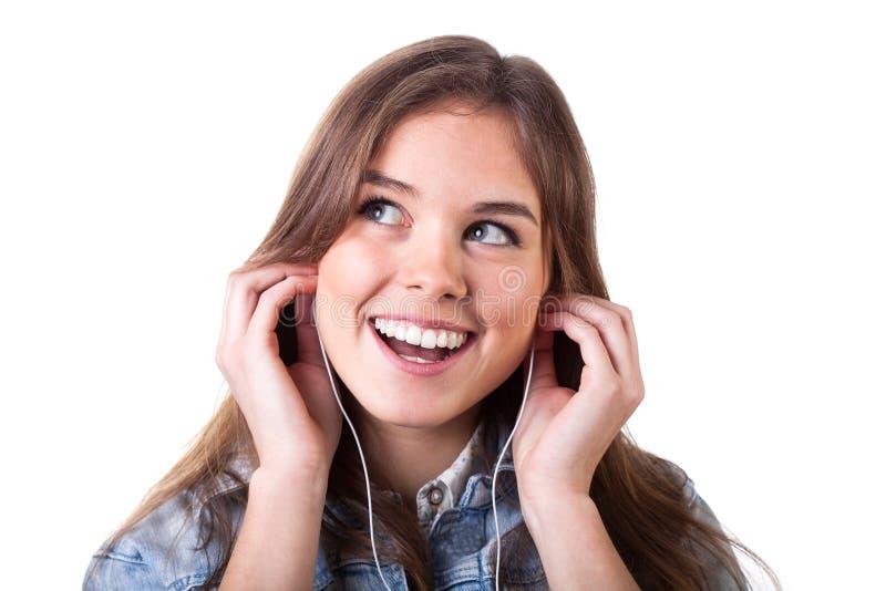 Download Jong meisje met telefoons stock foto. Afbeelding bestaande uit vrouw - 39108224