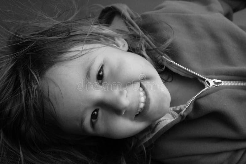 Jong Meisje op portait stock afbeeldingen