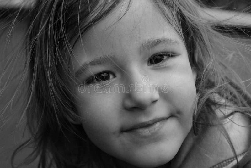 Jong Meisje op Strand royalty-vrije stock foto