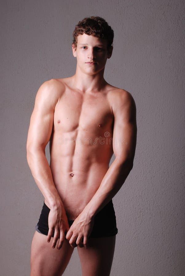 Jong model stock foto