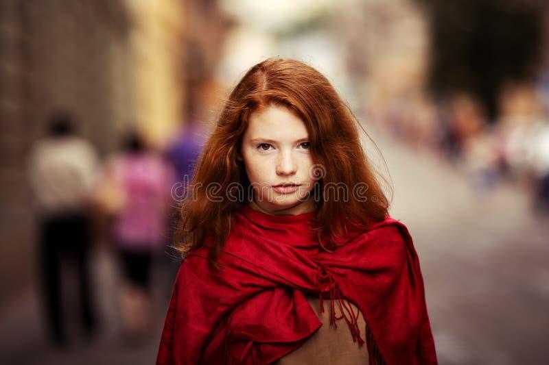 Jong mooi meisje royalty-vrije stock foto