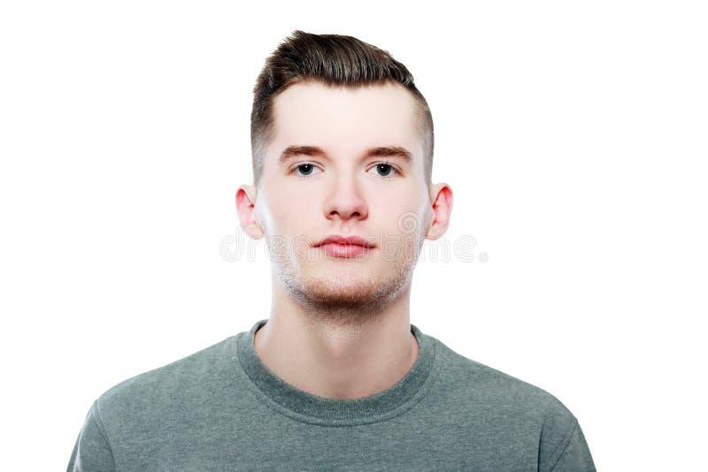 Jong toevallig mensenportret stock fotografie