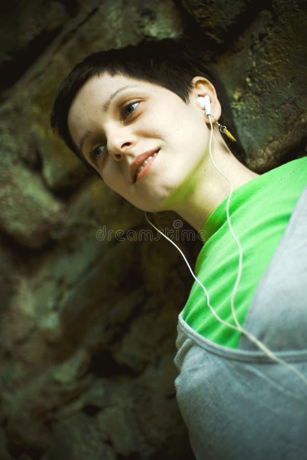 Jong volwassen vrouwenportret stock fotografie