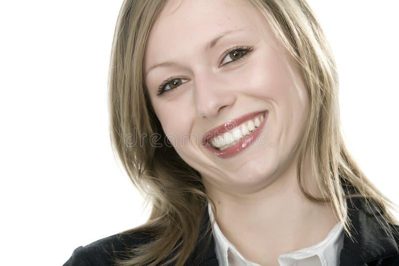 Jong vrouwengezicht royalty-vrije stock afbeelding