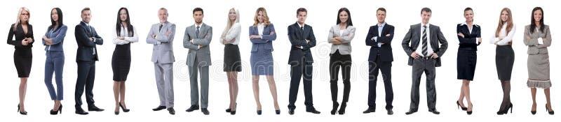 Jonge aantrekkelijke bedrijfsmensen - het elite commerciële team royalty-vrije stock afbeelding