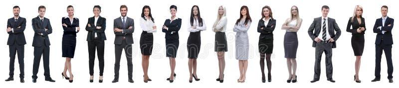 Jonge aantrekkelijke bedrijfsmensen - het elite commerciële team royalty-vrije stock foto's