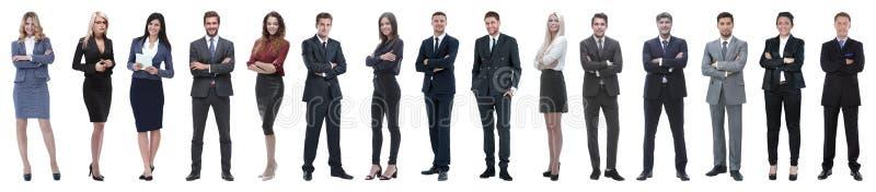Jonge aantrekkelijke bedrijfsmensen - het elite commerciële team stock foto's