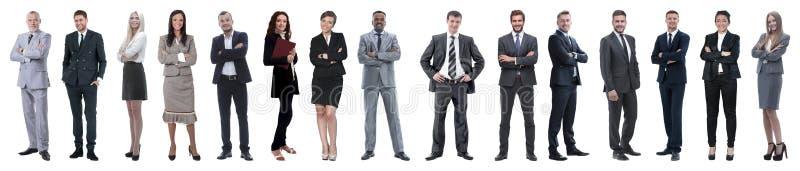 Jonge aantrekkelijke bedrijfsmensen - het elite commerci?le team stock afbeeldingen