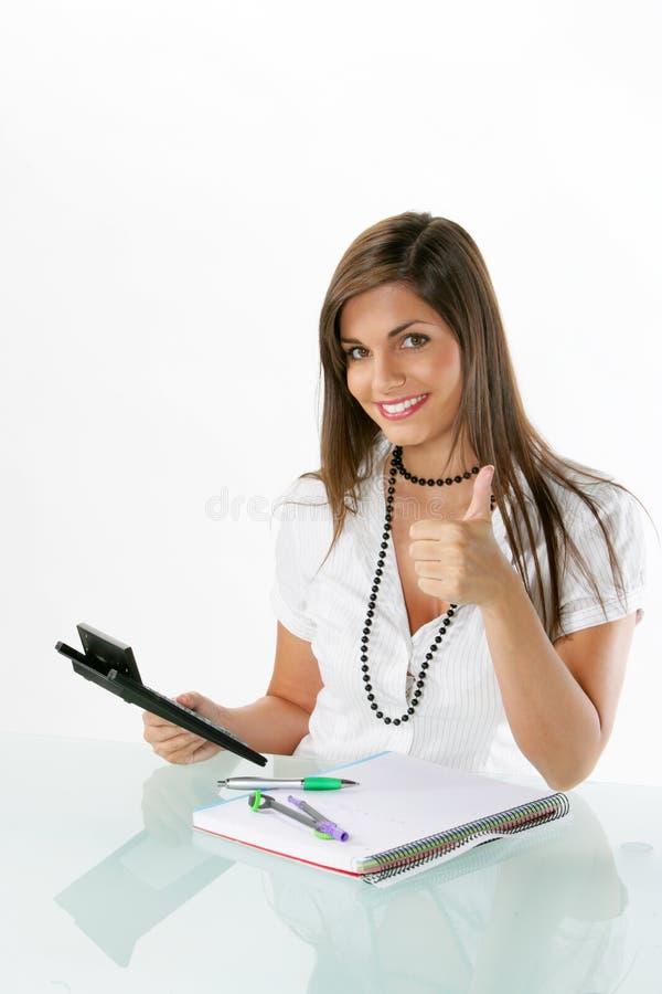 Jonge accountant stock afbeeldingen