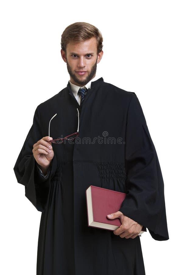Jonge advocaat royalty-vrije stock afbeeldingen