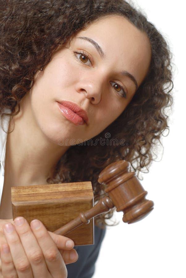 Jonge advocaat stock fotografie