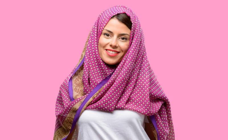 Jonge Arabische vrouw stock fotografie