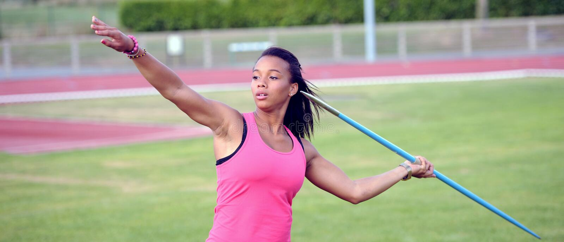 Jonge atleet royalty-vrije stock foto