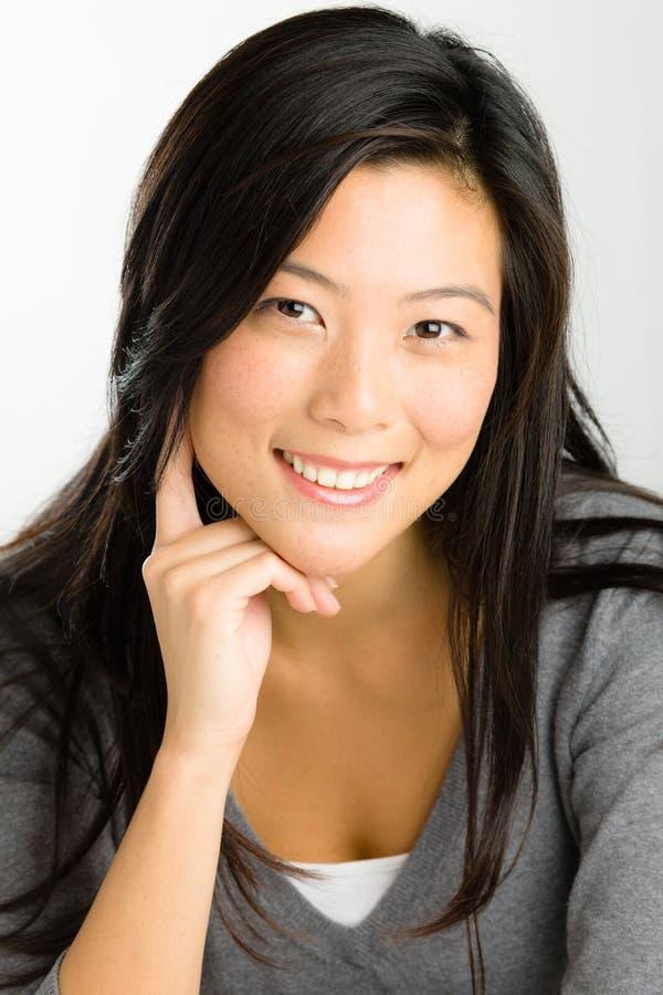 Jonge Aziatische Vrouw stock fotografie