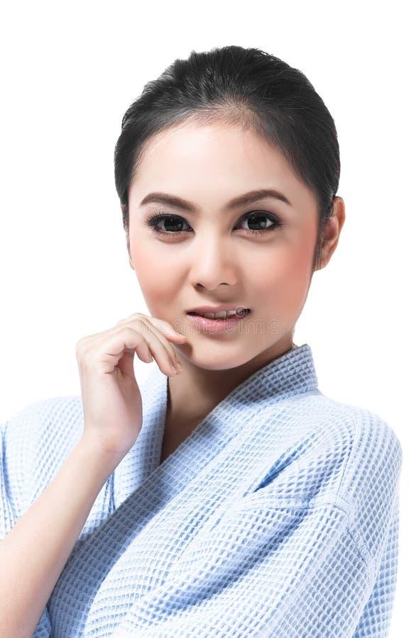Jonge Aziatische vrouw stock afbeeldingen
