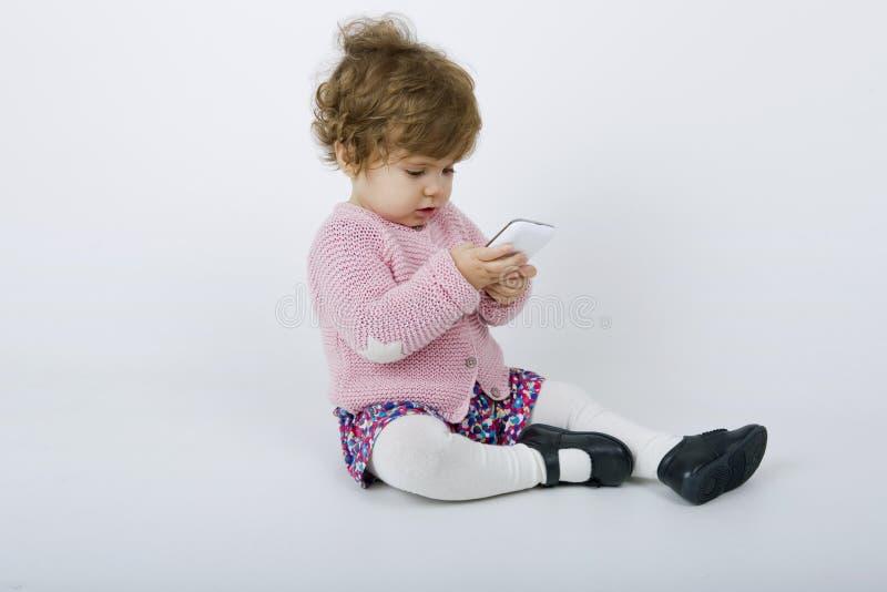 Jonge baby royalty-vrije stock afbeeldingen