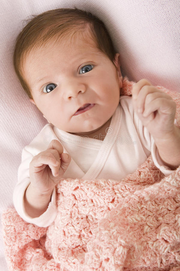 Jonge baby royalty-vrije stock foto