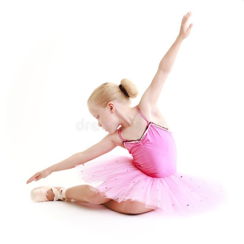 Jonge ballerina royalty-vrije stock afbeelding