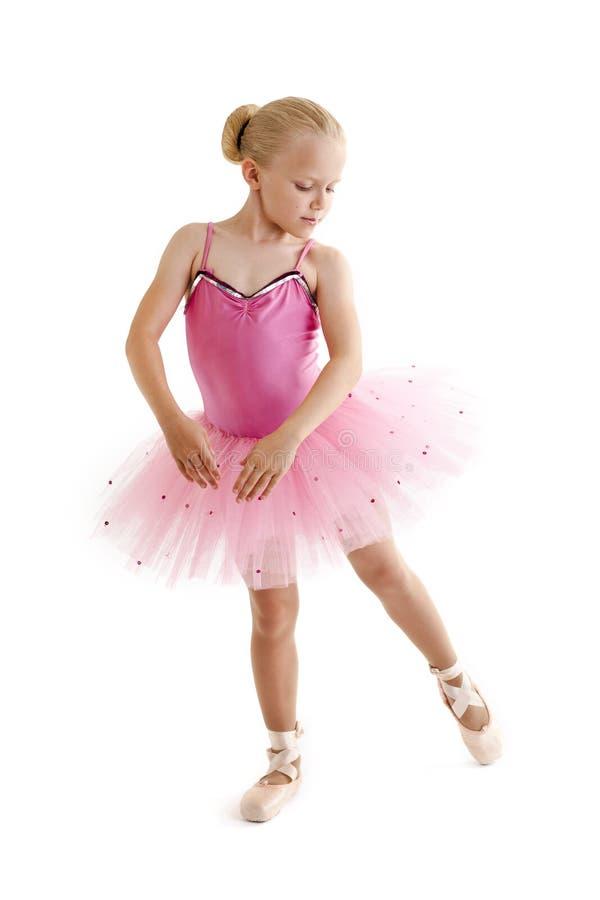 Jonge ballerina stock foto