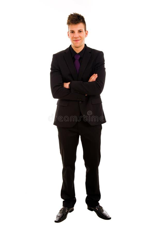 Jonge bedrijfsmens royalty-vrije stock foto