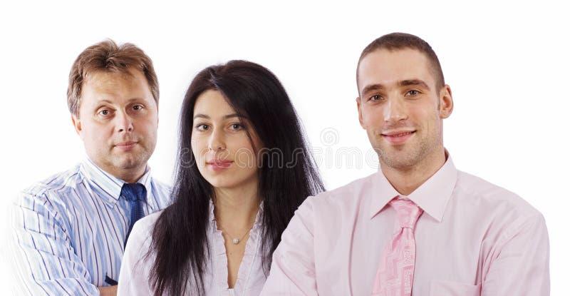 Jonge bedrijfsmensen stock foto