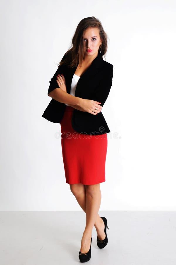 Jonge bedrijfsvrouw stock fotografie