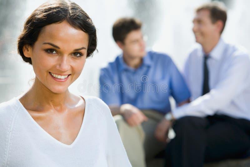 Jonge bedrijfsvrouwen royalty-vrije stock afbeeldingen