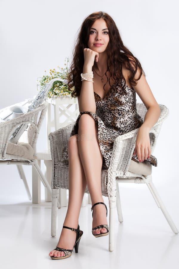 Jonge Brunette royalty-vrije stock foto's