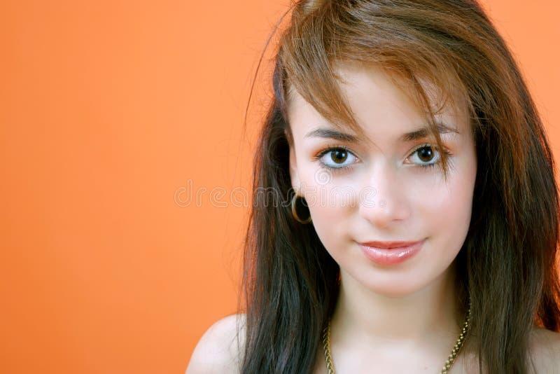 Jonge Brunette stock foto's