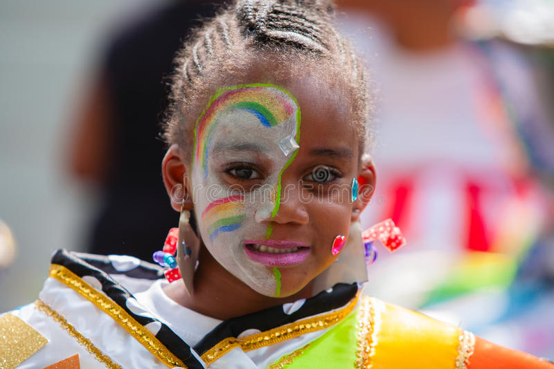 Jonge Carnaval-Danser stock foto's