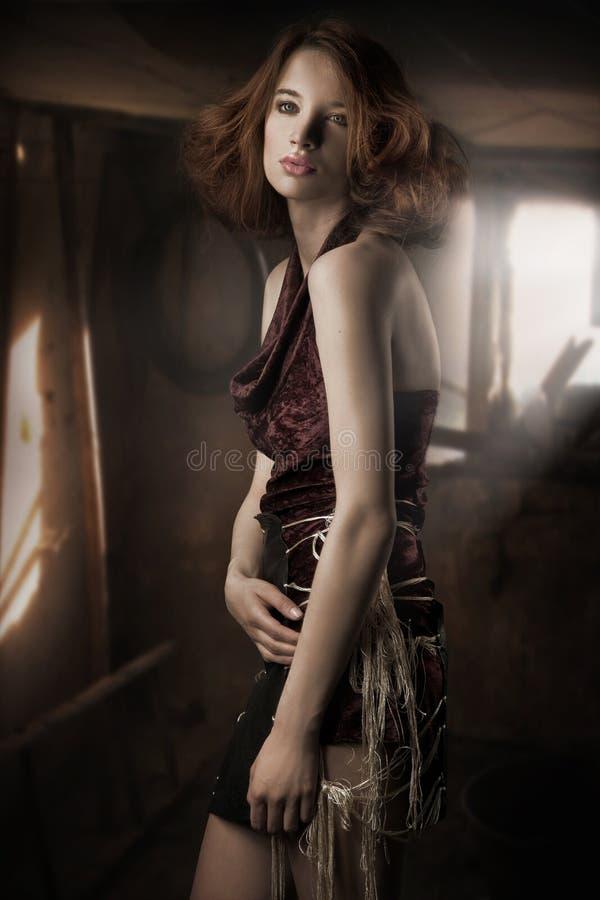Jonge dame stock afbeelding