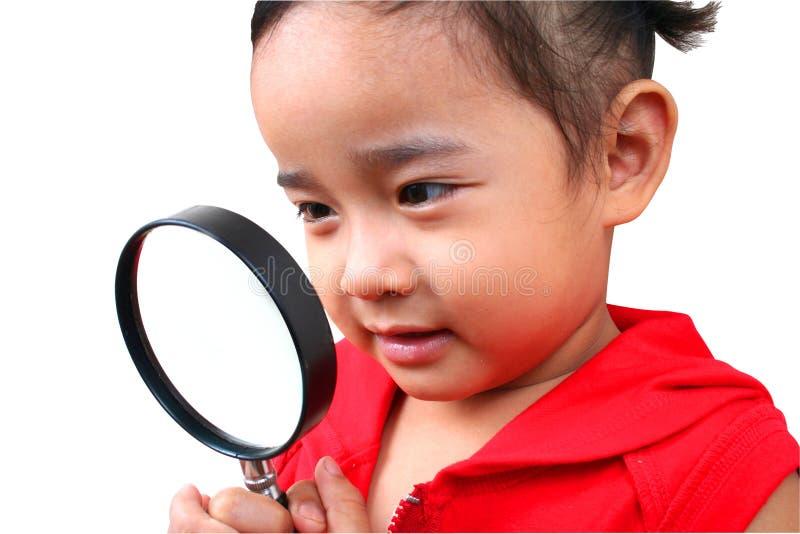 Jonge detective royalty-vrije stock foto