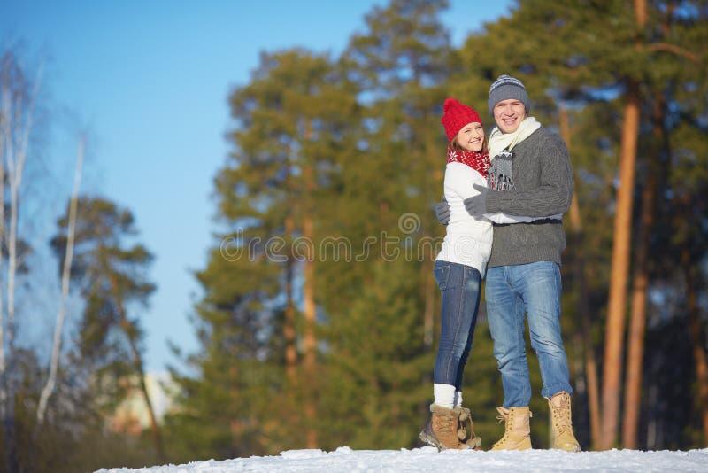 Jonge echtgenoot en vrouw stock afbeeldingen