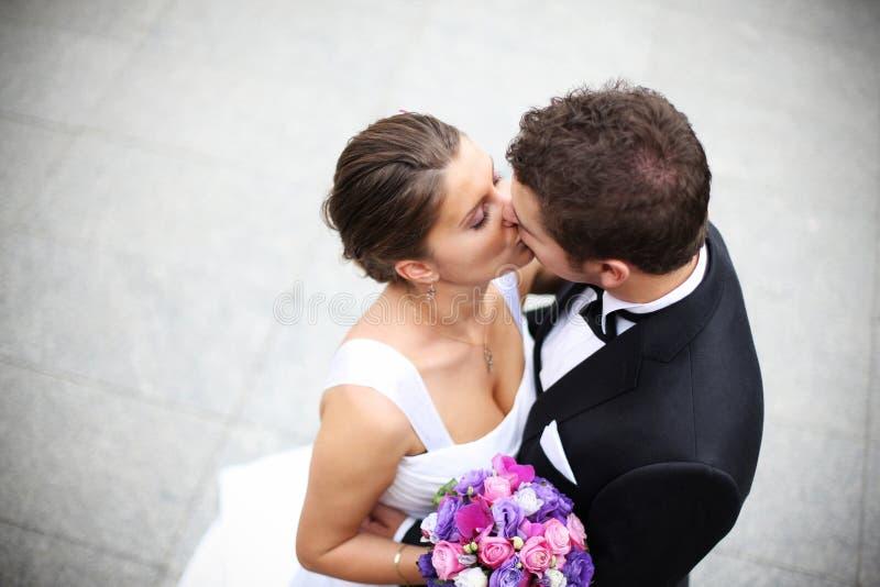 Jonge echtpaarkus stock afbeelding