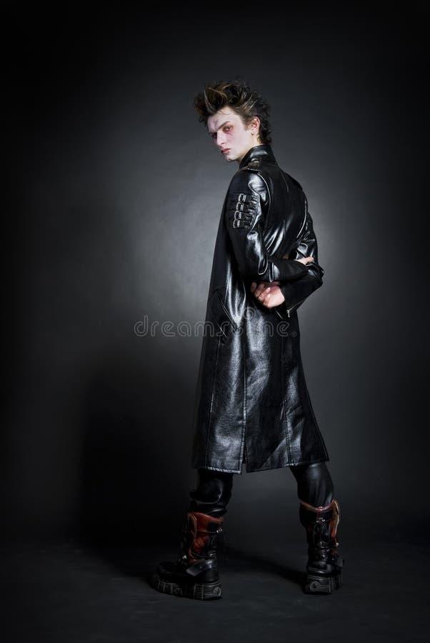Jonge goth royalty-vrije stock afbeeldingen