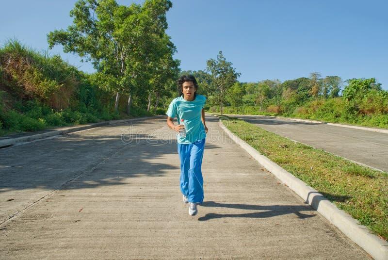 Jonge Indische jogger royalty-vrije stock afbeeldingen