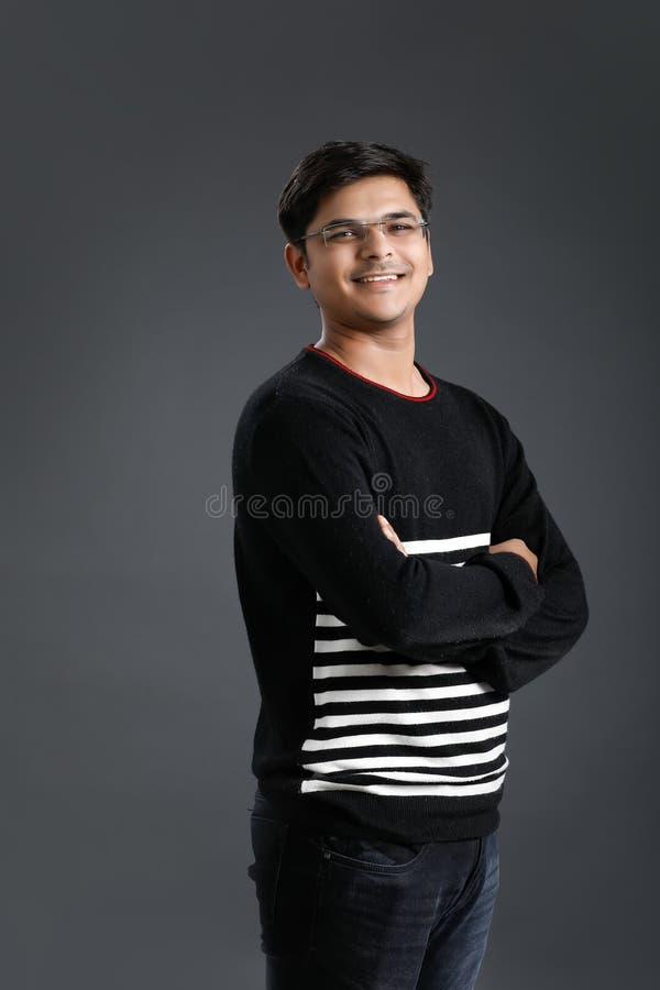 Jonge Indische mens royalty-vrije stock afbeeldingen