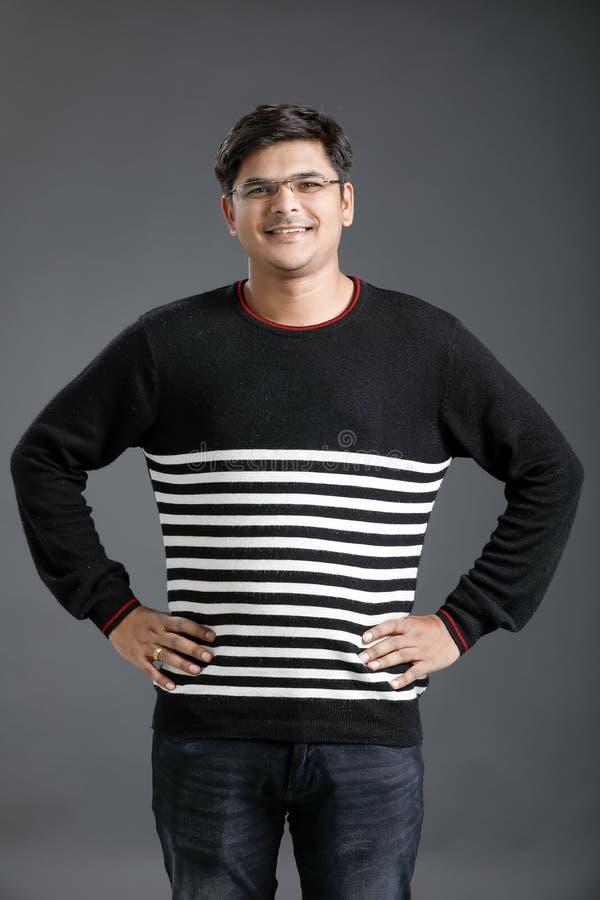 Jonge Indische mens stock afbeelding
