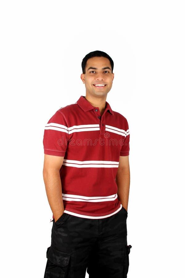 Jonge Indische student. royalty-vrije stock foto's