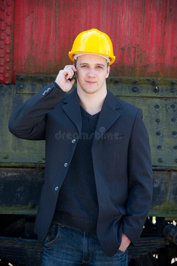 Jonge ingenieur royalty-vrije stock foto's