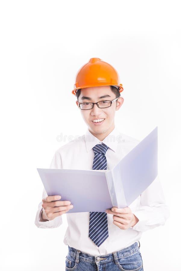 Jonge Ingenieur stock foto