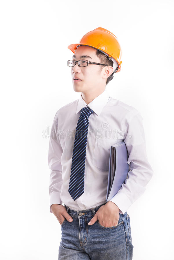 Jonge Ingenieur stock afbeelding